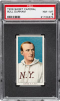Baseball Cards:Singles (Pre-1930), 1909-11 T206 Sweet Caporal 150/25 Bull Durham PSA NM-MT 8 - Only Two Higher. ...
