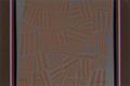 Fine Art - Work on Paper:Print, Paul Maxwell (b.1925). Untitled (Brown Folk Pattern), c. 1978. Serigraph in colors on paper. 26 x 39-3/8 inches (66 x 10...