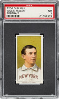 Baseball Cards:Singles (Pre-1930), 1909-11 T206 Old Mill Willie Keeler (Portrait) PSA NM 7 - Pop One, None Higher for Brand! ...