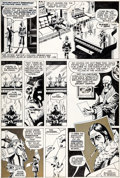 Original Comic Art:Panel Pages, Paul Gulacy Master of Kung Fu #29 Story Page 2 Original Art(Marvel, 1975)....