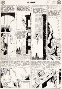 Carmine Infantino and Joe Giella The Flash#124 Story Page 3 Original Art (DC Comics, 1961)