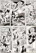 Original Comic Art:Panel Pages, Gene Colan and Tom Palmer Daredevil #90 Story Page 16 Original Art (Marvel, 1972). ...