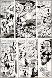 Gene Colan and Tom Palmer Daredevil #90 Story Page 16 Original Art (Marvel, 1972)