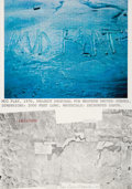 Fine Art - Work on Paper:Print, Dennis Oppenheim (1938-2011). Mud Flat, 1977. Lithograph in colors on wove paper. 41 x 29 inches (104.1 x 73.7 cm) (shee...