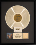 Music Memorabilia:Awards, Peter Paul and Mary A Song Will Rise RIAA Hologram Gold Sales Award (Warner Bros./Seven Arts, 1965). . ...
