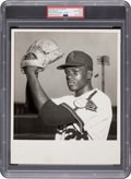 Baseball Collectibles:Photos, 1958 Bob Gibson Pre-Rookie Original Photograph, PSA/DNA Ty...