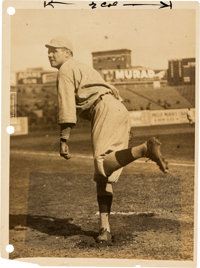 1919-20 Babe Ruth Sold to Yankees Original News Photograph, PSA/DNA Type 1