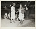Baseball Collectibles:Photos, Circa 1946 Jackie Robinson & Honus Wagner Original Photograph, PSA/DNA Type 1. ...
