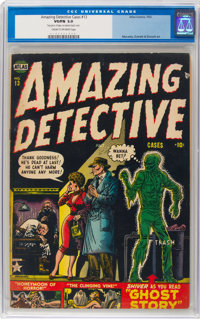 Amazing Detective Cases #13 (Atlas, 1952) CGC VG/FN 5.0 Cream to off-white pages