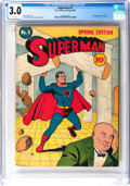 Golden Age (1938-1955):Superhero, Superman #4 (DC, 1940) CGC GD/VG 3.0 White pages....
