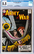 Silver Age (1956-1969):War, Our Army at War #83 (DC, 1959) CGC FN- 5.5 Off-white to white pages....