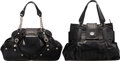 Luxury Accessories:Bags, Versace Set of Two: Black Patent Leather Bags. Condition: 4. See Extended Condition Report for Sizes.... ... (Total: 2 )