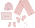Luxury Accessories:Accessories, Hermès Set of Five: Light Pink Baby Accessories. Condition: 1. See Extended Condition Report for Sizes.... ... (Total: 5 )