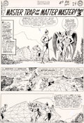 "Original Comic Art:Panel Pages, Murphy Anderson Hawkman #9 ""Master Trap of the Matter Master!"" Part 3 Original Art Group of 6 (DC, 1965).... (Total: 6 Original Art)"