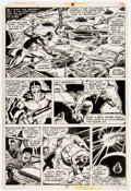 Original Comic Art:Panel Pages, Frank Robbins and Rod Santiago The Human Fly #6 Page 16 Original Art (Marvel Comics, 1978)....