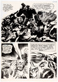 Original Comic Art:Panel Pages, Jack Kirby and Vince Colletta Spirit World #1 Story Page 10 Original Art (DC/Hampshire Distribution, 1971)....