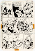 Original Comic Art:Panel Pages, George Perez and Mike DeCarlo Tales of the Teen Titans Annual #3 Page 16 Original Art (DC Comics, 1984)....