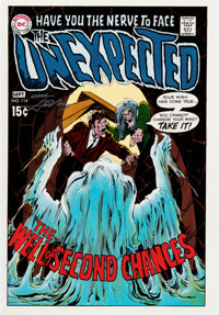 Neal Adams The Unexpected #114 Signed Cover Proof (DC, 1968)