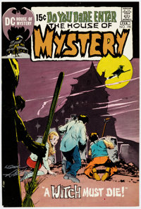 Neal Adams House of Mystery #190 Signed Cover Proof (DC Comics, 1971)