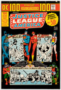 "Memorabilia:Miscellaneous, DC 100 Page Super Spectacular #17 ""The Justice League of America"" Wraparound Cover Proof (DC Comics, 1973)...."
