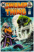 Memorabilia:Miscellaneous, DC Swamp Thing #11 Signed Cover Color Guide (DC Comics, 1974)...