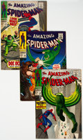Silver Age (1956-1969):Superhero, The Amazing Spider-Man Group of 5 (Marvel, 1967-69) Condition: Average VF+.... (Total: 5 Comic Books)