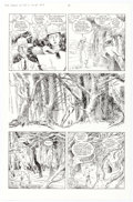 Original Comic Art:Panel Pages, Kevin O'Neill The League of Extraordinary Gentlemen #4 Story Page 14 Original Art (DC, 2003)....