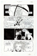 Original Comic Art:Panel Pages, Frank Quitely and John Stokes The Invisibles V3#1 Story Page 11 Original Art (DC, 2000)....