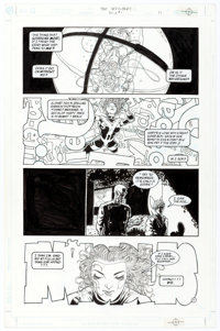 Frank Quitely and John Stokes The Invisibles V3#1 Story Page 11 Original Art (DC, 2000)