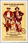 "Movie Posters:Western, Butch Cassidy and the Sundance Kid (20th Century Fox, R-1973). Folded, Very Fine-. One Sheet (27"" X 41""). Western.. ..."