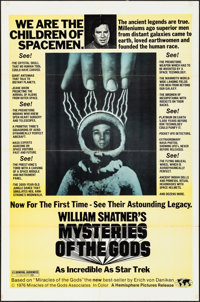 "Mysteries of the Gods & Other Lot (Hemisphere Pictures, 1977). Folded, Fine+. One Sheets (2) (27"" X 41""..."