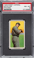Baseball Cards:Singles (Pre-1930), 1909-11 T206 Sweet Caporal 150/30 Ed Killian (Pitching) PSA NM-MT 8 - Only One Higher. ...
