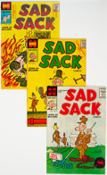 Silver Age (1956-1969):Humor, Sad Sack Armed Forces Complimentary File Copy Comics Short Boxes Group (Harvey, 1957-59) Condition: Average VF/NM.... (Total: 2 Box Lots)