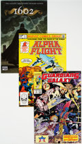 Modern Age (1980-Present):Miscellaneous, Marvel Modern Age Long Box Group (Marvel, 1980s-2000s) Condition: Average NM-....