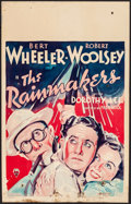"""Movie Posters:Comedy, The Rainmakers (RKO, 1935). Fine. Window Card (14"""" X 22""""). Comedy.. ..."""