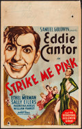 """Movie Posters:Musical, Strike Me Pink (United Artists, 1936). Fine. Window Card (14"""" X 22""""). Musical.. ..."""