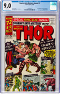 Silver Age (1956-1969):Superhero, Journey Into Mystery Annual #1 (Marvel, 1965) CGC VF/NM 9.0 Whitepages....