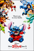 """Movie Posters:Animation, Lilo & Stitch (Buena Vista, 2002). Rolled, Very Fine+. One Sheet (27"""" X 40"""") DS, Advance. Animation.. ..."""