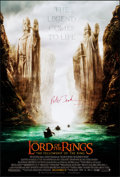 """Movie Posters:Fantasy, The Lord of the Rings: The Fellowship of the Ring (New Line, 2001). Rolled, Very Fine+. Autographed One Sheet (27"""" X 40"""") SS..."""