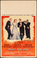 """Movie Posters:Musical, High Society (MGM, 1956). Fine/Very Fine. Window Card (14"""" X 22""""). Musical.. ..."""
