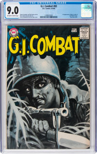 G.I. Combat #83 (DC, 1960) CGC VF/NM 9.0 Off-white to white pages