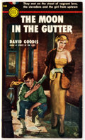 Books:Vintage Paperbacks, David Goodis The Moon in the Gutter Vintage 1st Edition Paperback (Gold Medal, 1953)....
