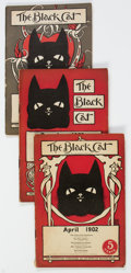 Magazines:Miscellaneous, The Black Cat Group 11 (Shortstory Publishing Co., 1902-06) Condition: Average VG.... (Total: 11 Comic Books)