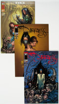 Modern Age (1980-Present):Horror, Darkness #10 and 11 Long Box Group (Top Cow Publications, 1999)Condition: NM-....