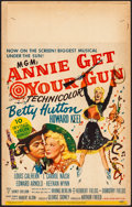 "Movie Posters:Musical, Annie Get Your Gun (MGM, 1950). Fine/Very Fine. Window Card (14"" X 22""). Musical.. ..."