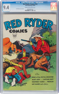 Golden Age (1938-1955):Western, Red Ryder Comics #19 (Dell, 1944) CGC NM 9.4 Cream to off-white pages....