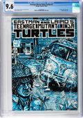 Modern Age (1980-Present):Alternative/Underground, Teenage Mutant Ninja Turtles #3 (Mirage Studios, 1985) CGC NM+ 9.6 White pages....