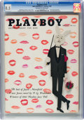 Magazines:Vintage, Playboy V7#2 (HMH Publishing, 1960) CGC VF+ 8.5 Off-white to white pages....