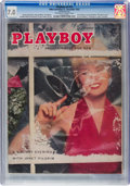 Magazines:Vintage, Playboy V2#12 (HMH Publishing, 1955) CGC FN/VF 7.0 Off-white to white pages....