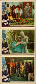 "The Mummy's Curse (Universal, 1944). Fine/Very Fine. Lobby Cards (3) (11"" X 14""). ... (Total: 3 Items)"